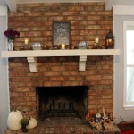 $5 Goodwill Challenge & Fireplace Decor Tour — Fall 2015